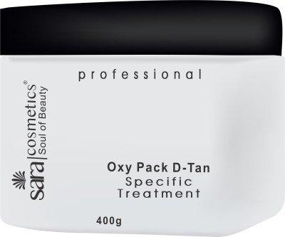 Sara Oxy Pack D-tan(400 (400g Pack)