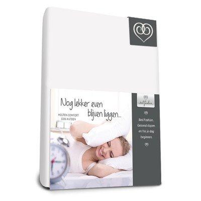 matrimoniale bianco cotone di flanella 160/x 210/cm Bed  Fashion 4200160210 Comfort Lenzuolo con angoli