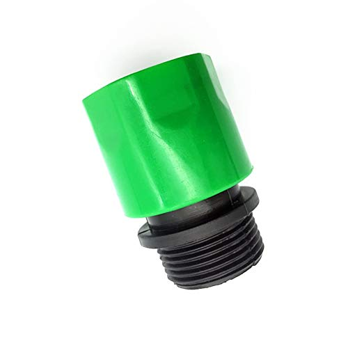 Kammas 100pcs 3/4 Inch Garden Drip Irrigation Quick Connector Fitting Adapter Male Fittings and 16mm Seal Hose Fittings Hose Splitter - (Diameter: 5/8'') by Kamas