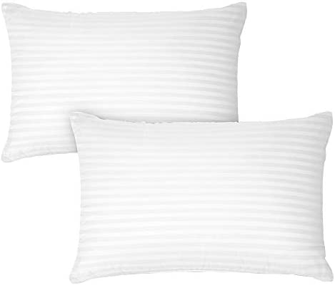 DreamNorth Premium Gel Pillow Loft (Pack of 2) Luxury Plush Soft Bed Pillows for Home + Hotel Collection [Good for Side and Back Sleeper] Cotton Cover Dust Resistant & Hypoallergenic – Queen Size