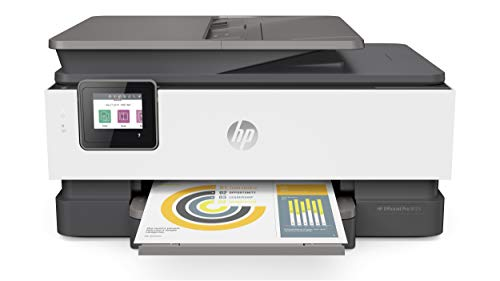 All In One Printer - HP OfficeJet Pro 8025 All-in-One Wireless Printer, with Smart Tasks for Home Office Productivity & Never Run Out of Ink with HP Instant Ink (1KR57A)