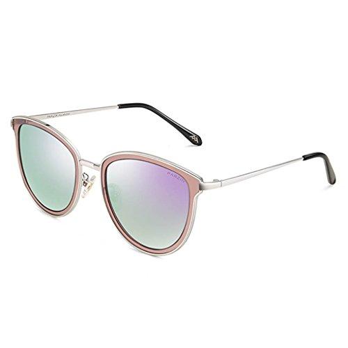 Gafas gafas D de para sol sol A de polarizadas mujer de Sungeye Color gran tamaño Gafas Retro OZFIq