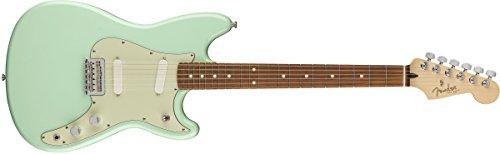 Fender Duo-Sonic - Surf Green with Pau Ferro - Fender Front Bolt