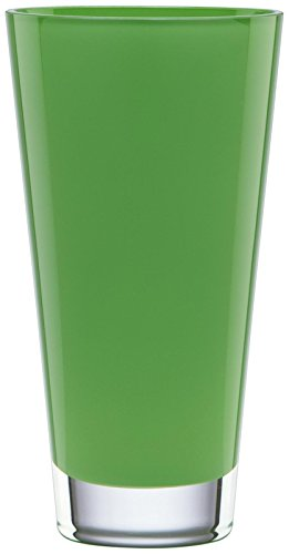 (Kate Spade New York Trumpet Crystal Vase, Green,)