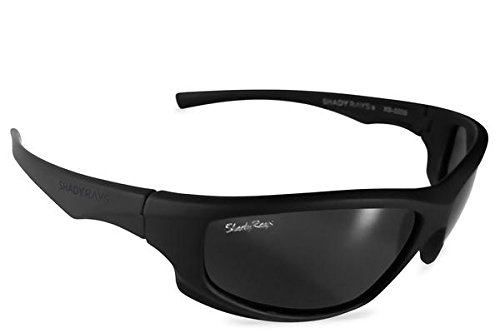 Shady Rays Polarized Sport Sunglasses X Series, - Lenses Logo