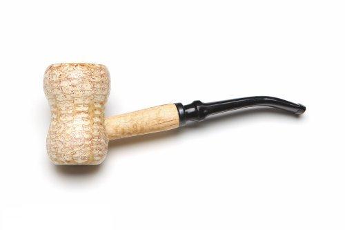 Missouri Meerschaum Great Dane Spool Corncob Tobacco Pipe Bent