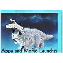 McDonalds Happy Meal The Last Airbender Appa and Momo Launcher Toy #2 by McDonald's