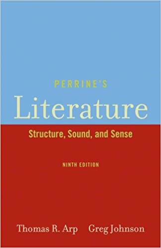 Amazon perrines literature structure sound and sense perrines literature structure sound and sense 9th edition fandeluxe Images