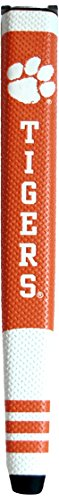 Team Golf NCAA Clemson Tigers Golf Putter Grip with Removable Gel Top Ball Marker, Durable Wide Grip & Easy to Control