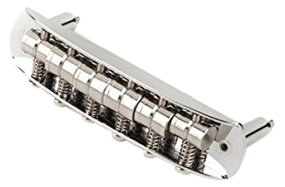 Fender Mustang Guitar Bridge Assembly - Chrome (Japan) by Fender