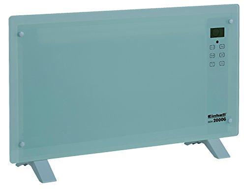 Einhell Konvektor GCH 2000 G (2000 Watt, 2 Heizstufen, LCD Display, Touchscreen, Zeitschalter, Fernbedienung, Stand- oder Wandgerät)