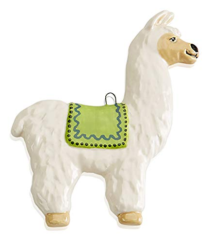 The Lovable Llama Ornament Paint Your Own Ceramic Keepsakes Set of 4