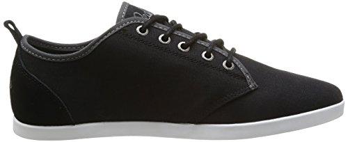 Clearblue Zigoma - Zapatos para hombre Noir (Noir/Gris)