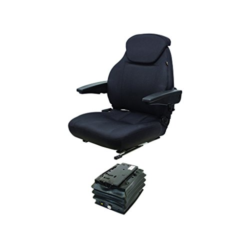 K&M 039-6766 Case 930-1030 Series KM 440 UNI Pro Seat & Air Suspension, with Swivel by K&M
