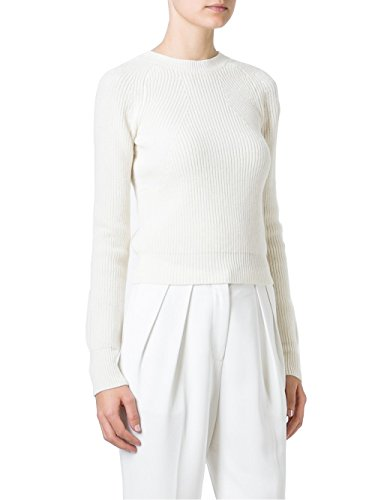 - Helmut Lang Cropped Pullover Pearl L