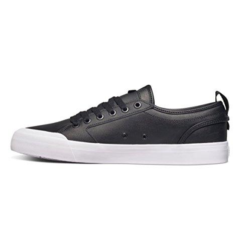DC - Zapatillas de skateboarding para hombre negro/blanco