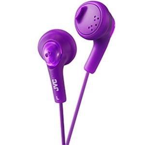 - JVC America Genuine Gumy Headphone Violet