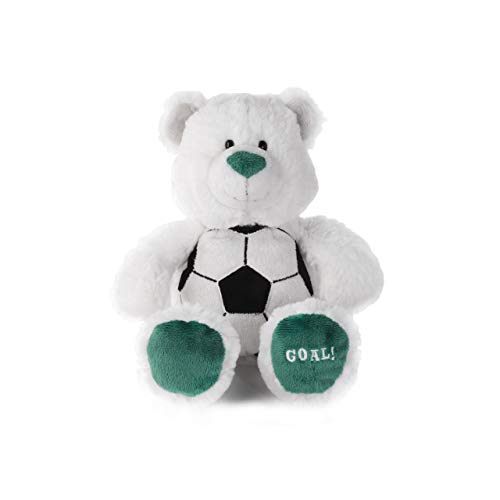 Nat and Jules Game Day Bears Plush Toy, Soccer (Beanie Kicks Babies)