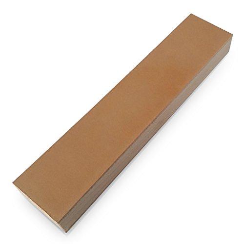 Streichriemen doppelseitig » PODURO DOUBLE « Abziehleder für Messer und Rasiermesser & Baumwollbeutel