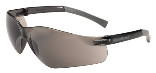 Jackson Safety 25652 V20 Purity Safety Glasses, Smoke Lenses with Smoke Temples (Pack of 12)