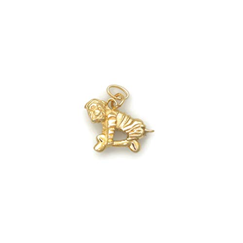 (14Kt Chinese Shar Pei Charm, 14Kt Gold Chinese Shar Pei Pendant, 14Kt Chinese Sharpei Charm fr Donna Pizarro's Animal Whimsey)