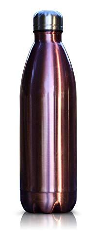 - Nest Houseware Eco Friendly Stainless Steel Double Walled Vacuum Water Bottle Handheld 25oz 750ml