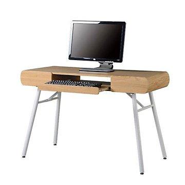 amazon com modern slim line computer desk 48 w office products rh amazon com slim desktop computer reviews slim desktop computer reviews