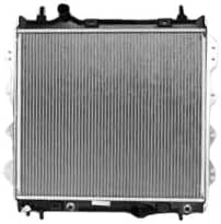 TYC 2298 Compatible with Chrysler PT Cruiser 1-Row Plastic Aluminum Replacement Radiator