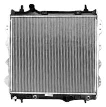 TYC 2298 Chrysler PT Cruiser 1-Row Plastic Aluminum Replacement Radiator
