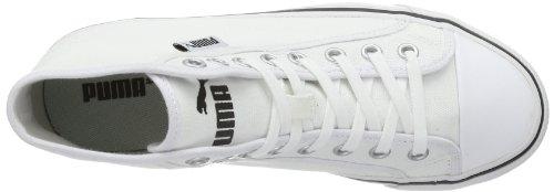 Puma Puma Streetballer Mid 356690 - Zapatillas de lona para unisex-adultos, color azul, talla 36 Bianco (Bianco (white 02))