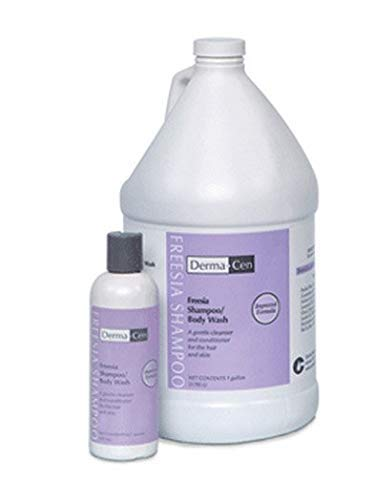 Shampoo and Body Wash DermaCen 1 gal. Freesia Bottle