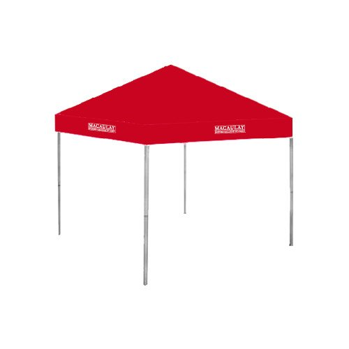 Macaulay Honors 9 ft x 9 ft Red Tent 'Official Logo' by CollegeFanGear