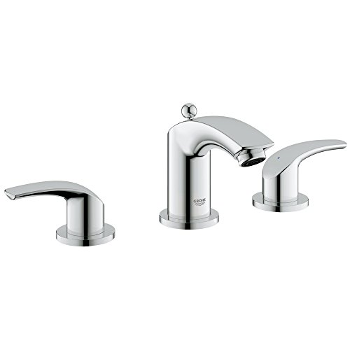 Eurosmart Roman Tub - Eurosmart New 8 in. Widespread 2-Handle Low Arc Bathroom Faucet - 1.5 GPM