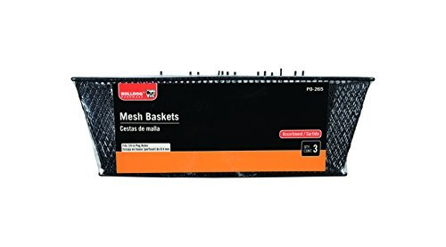 The Bulldog Hardware 2000204 Mesh Basket-Value Pack by Bulldog Hardware