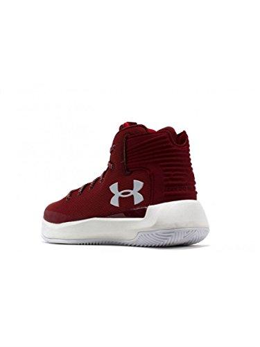 Juniors Armour pour Under SC 36 Pointure 5 Rouge Basketball Chaussures 3Zero de S11d8q
