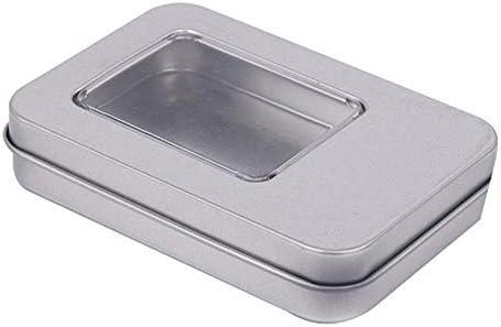 YOUNICER Caja de Metal Caja portátil Pequeña Caja de ...