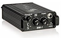 [Sound Devices MM-1 Single Channel Portable Microphone Preamplifier with Headphone Monitor] (Portable Mic Preamp)