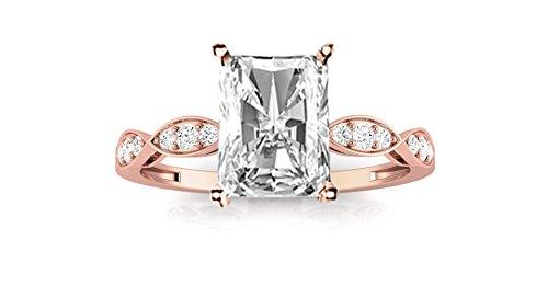 0.65 Ct Radiant Diamond - 1