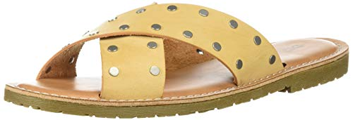 Dirty Laundry by Chinese Laundry Women's Elana Slide Sandal, tan Smooth, 9 M US ()
