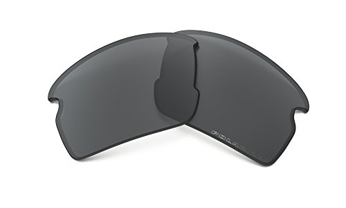Oakley Flak 2.0 Replacement Lens Black Iridium Polarized, One - Sunglass Oakley Replacement Parts