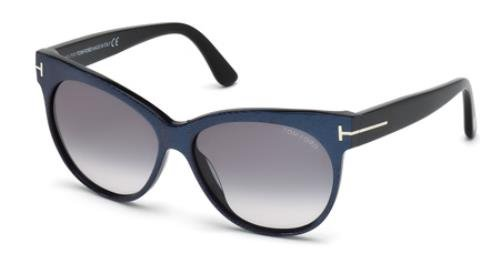 Tom Ford Saskia FT0330 Sunglasses-82B Blue Purple (Violet Gradient - Sunglasses Tom Purple Ford
