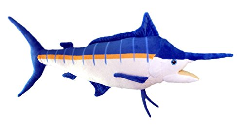 "Adore 19"" Marley The Marlin Fish Stuffed Animal Plush Walltoy Wall Mount"