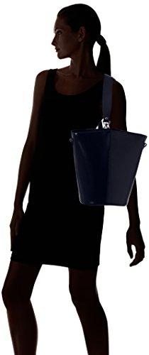 Chicca Borse 8890, Borsa a Spalla Donna, 31x33x16 cm (W x H x L) Blu (Blue)
