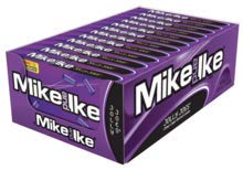 - Mike and Ike Jolly Joes 5 oz. Theater Box: 12 Count