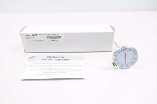 (VWR 89095-754 DIAL Thermometer 200MM Probe 25-125F D551407 )