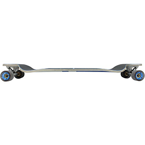 GLOBE HG Geminon Drop-Down Longboard, Blue Diamond/White, 41-Inch