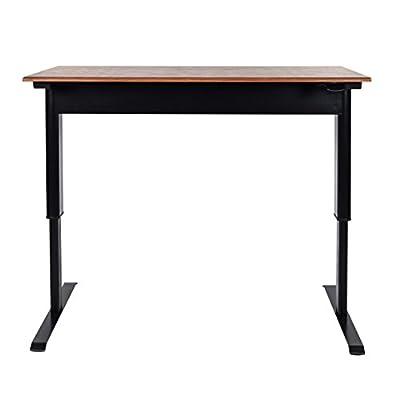 Luxor Pneumatic Adjustable Height Standing Desk