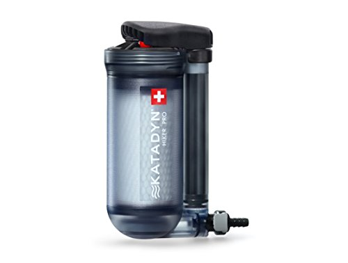 Katadyn Water Filter, Long Lasting for Personal or Small Group Camping, Backpacking or Emergency Preparedness