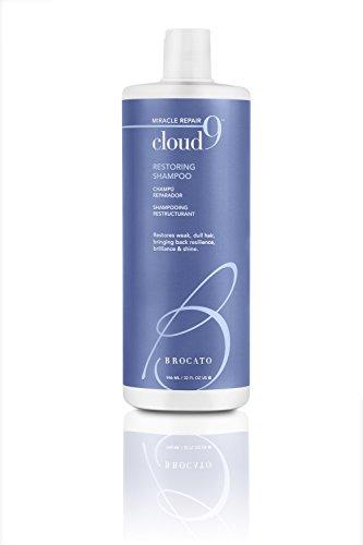 Brocato Cloud 9 Restoring Shampoo by Beautopia Hair: Miracle Repair Moisturizing & Revitalizing Shampoo - 32 - Moisture Brocato Shampoo