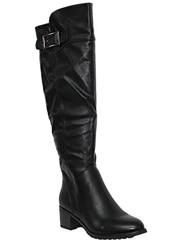 la de chica Por rodilla Foster encima 5 mujer Footwear negro 6Sqw7pxI